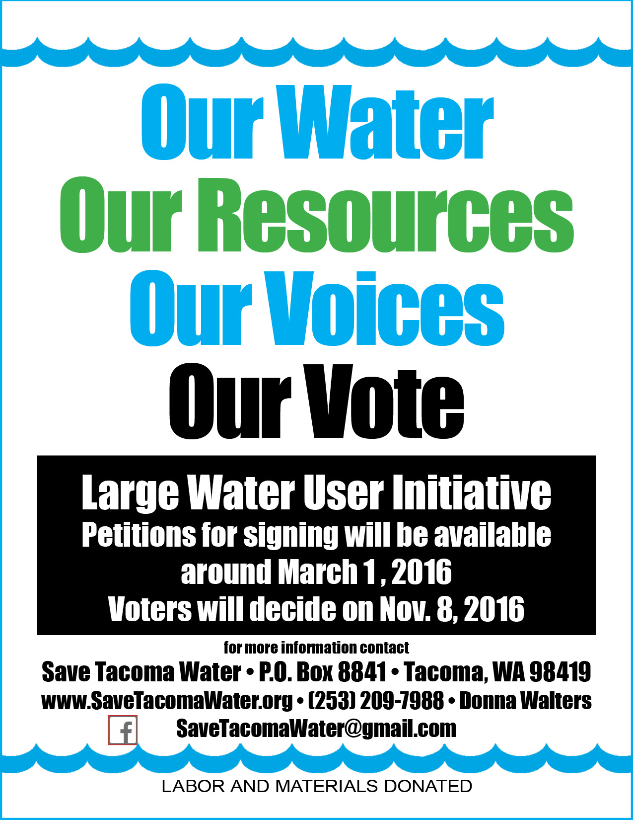 Our Water Our Resources