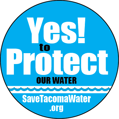 Button Yes to Protect Our Water ROUND