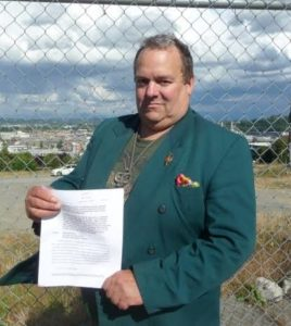 Arthur West submits letter of complaint.